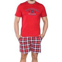 Piżama męska ramzes - wiśniowy marki Italian fashion