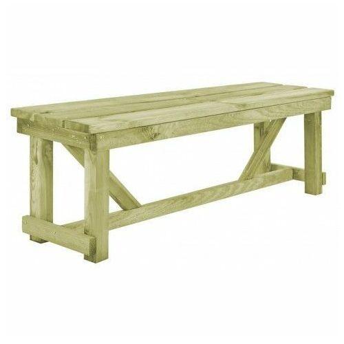 Producent: elior Drewniana ławka ogrodowa beten - zielona
