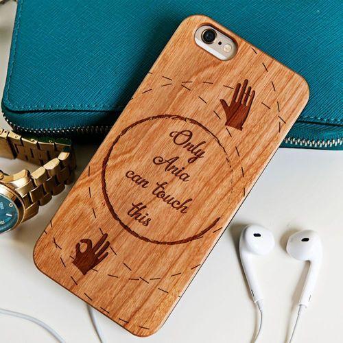Touch this - drewniana obudowa - wiśnia - iphone 6+/6s+ od producenta Mygiftdna