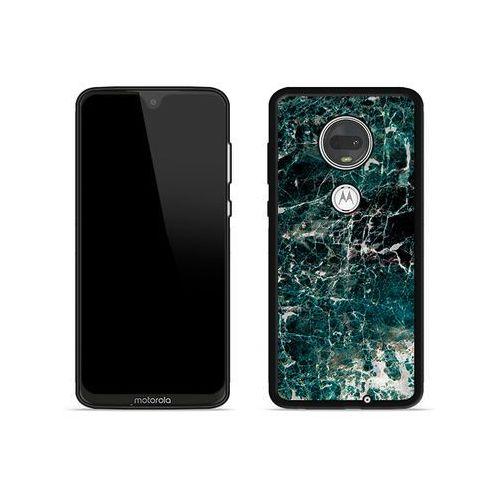 Etuo aluminum fantastic Motorola moto g7 plus - etui na telefon aluminum fantastic - zielony marmur