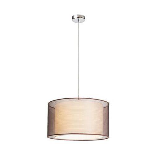 Lampa wisząca zwis oprawa Rabalux Anastasia 1X60W E27 brązowa 2632, 2632