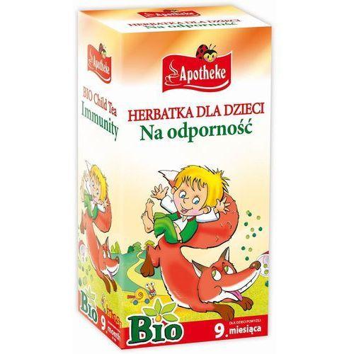 Apotheke bio herbatka dla dzieci na odporno, 20 torebek - OKAZJE