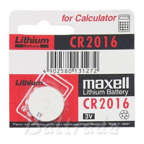 bateria litowa Maxell CR2016