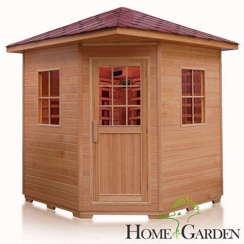 Home&garden Sauna infrared f5-6 os. koloroterapia