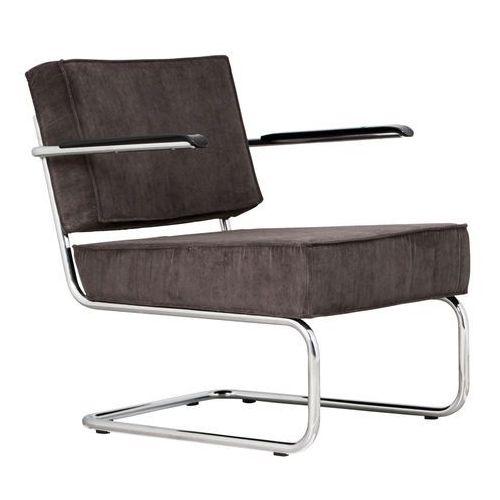 krzesło lounge ridge rib arm szare 3100015 marki Zuiver