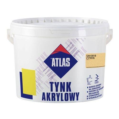 Tynk akrylowy Atlas SAH 0018 cytryn 25 kg (5905400430721)
