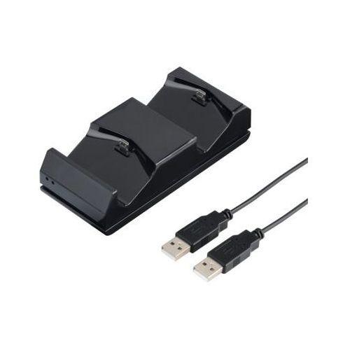 Hama stacja ładująca dual ESS. do kontrolerów Sony PS4 (4047443229540)