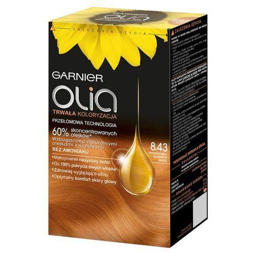 Garnier olia 8.43 intensywna złocista miedź farba do włosów