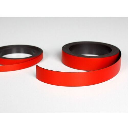 pasek magnetyczny czerwony, pasek magnetyczny