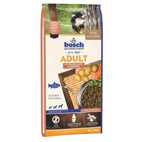 15 kg Bosch Adult + Animonda GranCarno czysta wołowina, 6 x 400 g - Adult Fish & Potato, ryba i ziemniak, 15 kg| -5% Rabat dla nowych klientów| Dostawa GRATIS + promocje, 1000256