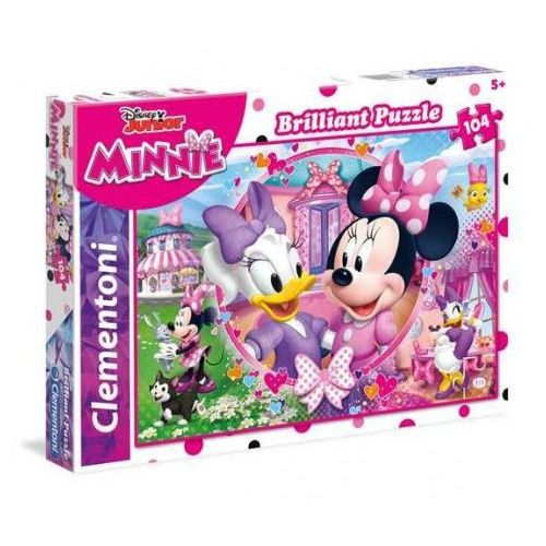 Puzzle 104 minnie happy helpers marki Clementoni