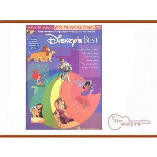 Easy Piano CD Play Along Vol. 15: Disney's Best (+ płyta CD) - nuty na fortepian (9781423401384)