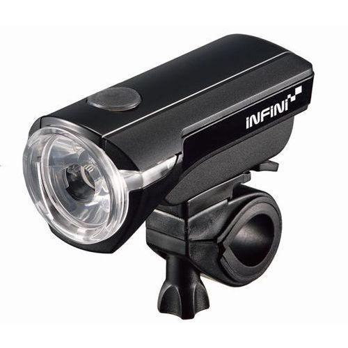 saturn 150 3w - lampa przednia, czarna marki Infini