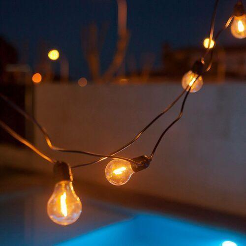 Newgarden Allegra łańcuch świetlny LED RGBW czarny
