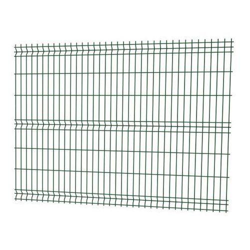 Panel ogrodzeniowy 3D 153 x 250 cm oczko 5 x 20 cm drut 4 mm ocynk zielony