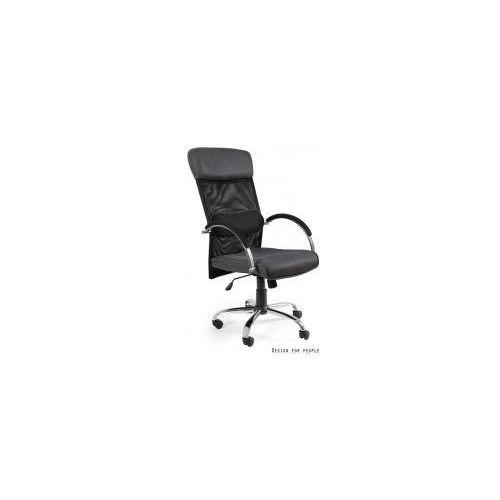 Krzesło biurowe overcross szare marki Unique meble