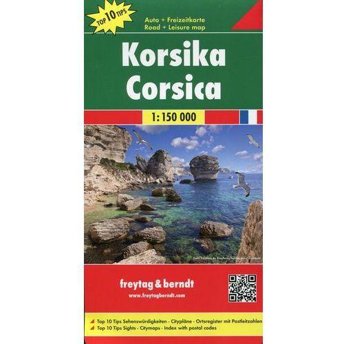 Korsyka mapa 1:150 000 Freytag & Berndt (2 str.)