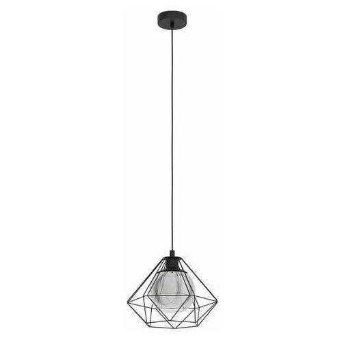 Eglo vernham 43482 lampa wisząca zwis 1x40w e27 czarna