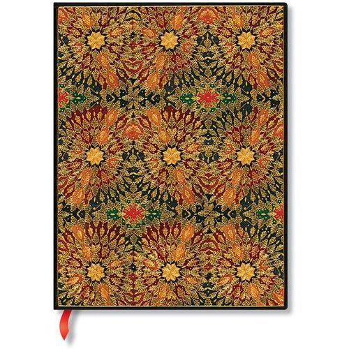 Notes fire flowers ultra lined marki Paperblanks