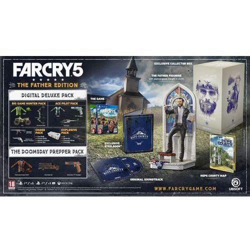 Ubisoft gra far cry 5 - the father edition na konsolę play station 4