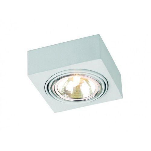 Argon Kinkiet rodos 3084 lampa oprawa ścienna spot 1x48w g9 biały (5908259945415)