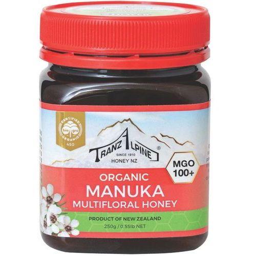Miód manuka mgo 100+ bio 250 g - tranzalpine marki Tranzalpine dystrybutor: bio planet s.a., wilkowa wieś 7, 05-084 leszn