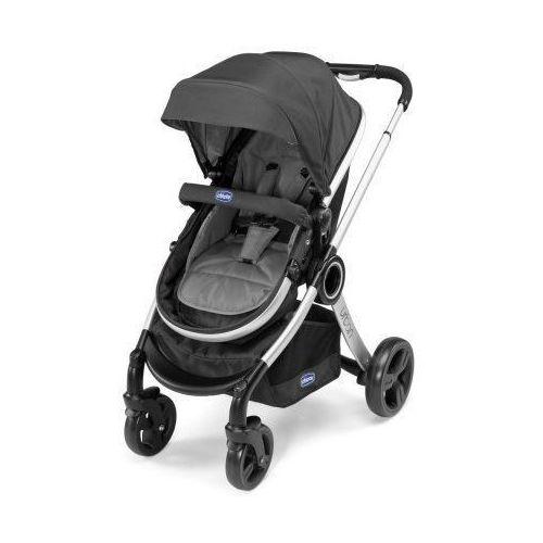 Wózek wielofunkcyjny Chicco Urban + fotelik samochodowy 0-13kg Autofix + adaptery anthracite