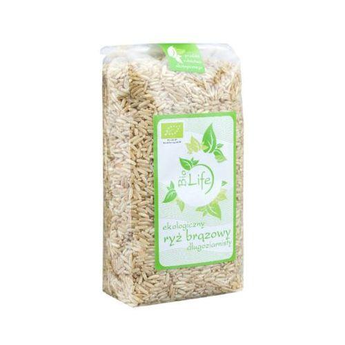 500g ryż brązowy długoziarnisty bio marki Biolife