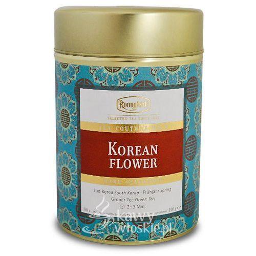 Ronnefeldt Zielona herbata  couture korean flower 100g (4006465108806)