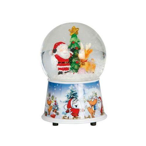 Świąteczna kula wodna z Mikołajem - 15 cm - 1 szt. (8412672429997)