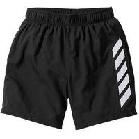 Długie szorty funkcyjne regular fit czarny marki Bonprix