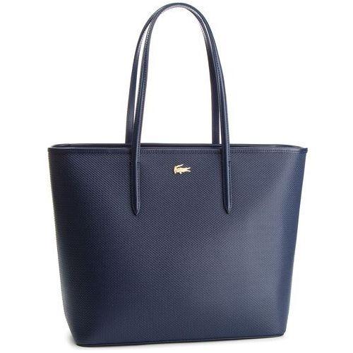 Torebka - zip shopping bag nf2335ce peacoat 021 marki Lacoste