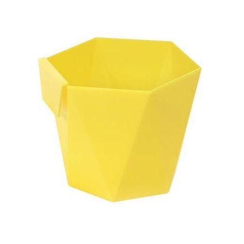 Osłonka do ziół heca : kolor - żółty, średnica - 105 mm marki Lamela