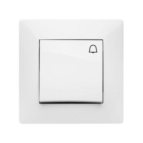 Elektroplast Przycisk dzwonek elektro-plast volante biały (5902012983164)