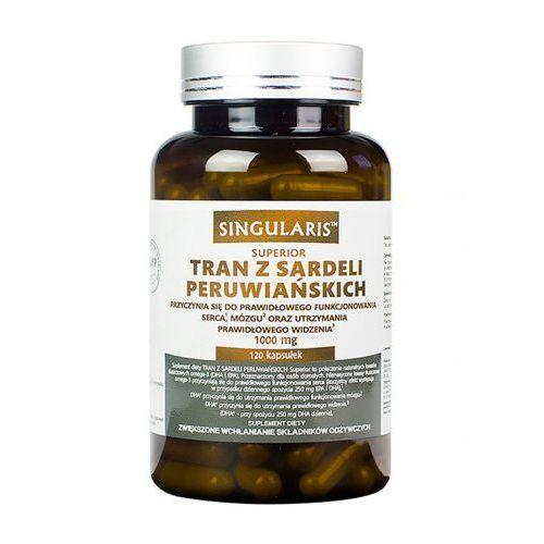 TRAN Z SARDELI PERUWIAŃSKICH 120 kaps SINGULARIS Superior, produkt z kategorii- Tran