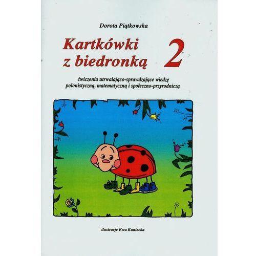 Kartkówki z biedronką cz.2 Ćwiczenia utrwalająco-sprawdzająca wiedzę polinistyczną, matematyczną i społęczni-przyrodniczą (112 str.)
