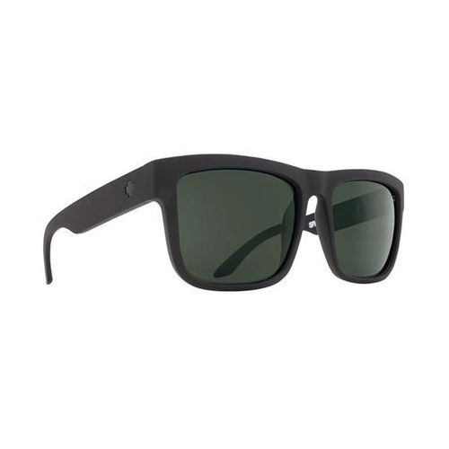 Okulary Słoneczne Spy DISCORD Polarized Discord Matte Black - Happy Glass Gray Polar, kolor żółty