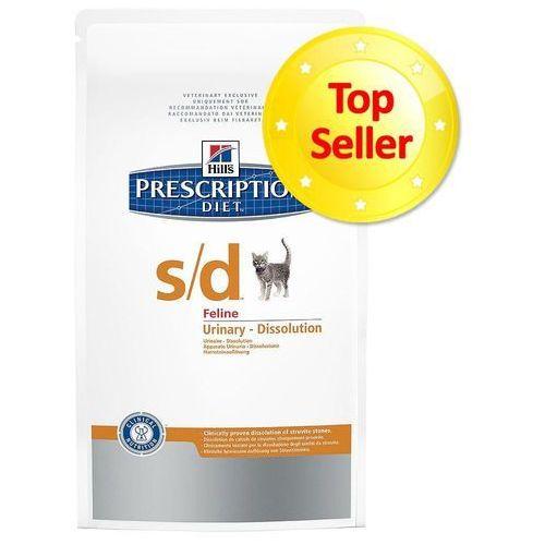 Hills prescription diet Hill's prescription diet feline urinary dissolution s/d - 5 kg (0052742432205)