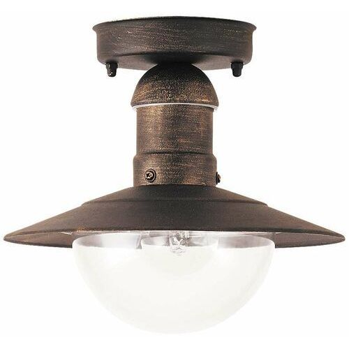 Plafon zewnętrzny lampa sufitowa Rabalux Oslo 1x60W E27 IP44 antyczne złoto 8736 (5998250387369)