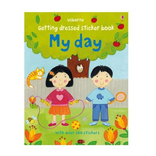 Getting Dressed Sticker Book My Day (9781409582366)