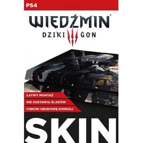 Naklejka ps4 skin geralt ciri marki Cd_projekt