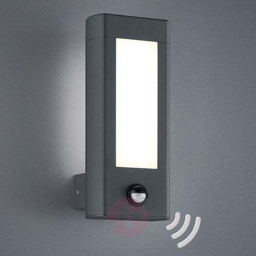 Trio lighting Z czujnikiem ruchu - lampa zewnętrzna led rhine (4017807297614)