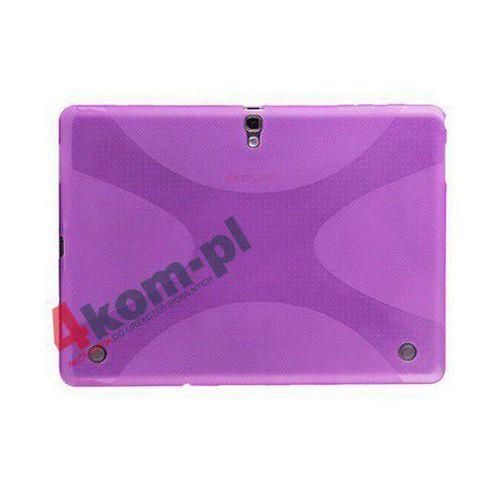 Etui X-SHAPE SAMSUNG GALAXY TAB S 10.5 + Folia - Fioletowy, kolor fioletowy