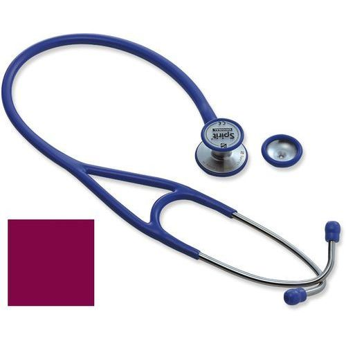 Stetoskop kardiologiczny Spirit Triplexcon Deluxe SS747PF 3w1 - burgundowy