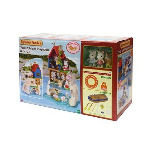 Sylvanian Families Secret Island Playhouse Gift Set