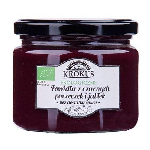 Ekologiczne Powidła Czarna Porzeczka-Jabłko Bez Cukru 310g - Krokus z kategorii Przetwory warzywne i owocowe