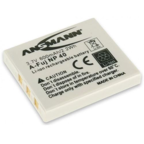 Ansmann Akumulator do fujifilm a-fuj np 40 (600 mah) (4013674022489)