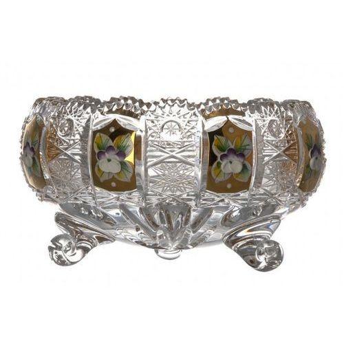 Caesar crystal 141671 półmisek 500k złoto i, szkło kryształowe bezbarwne, średnica 155 mm