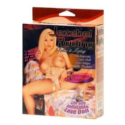 Sexy dmuchana lalka Jezebel do pozycji na jeźdźca (4892503046601). Najniższe ceny, najlepsze promocje w sklepach, opinie.