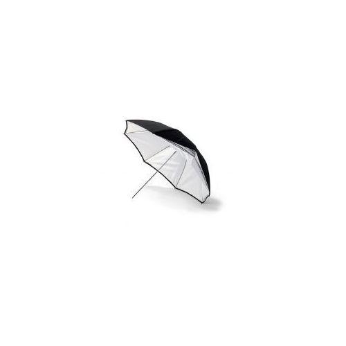 Parasol Srebrny/Biały 140 cm, BW4060